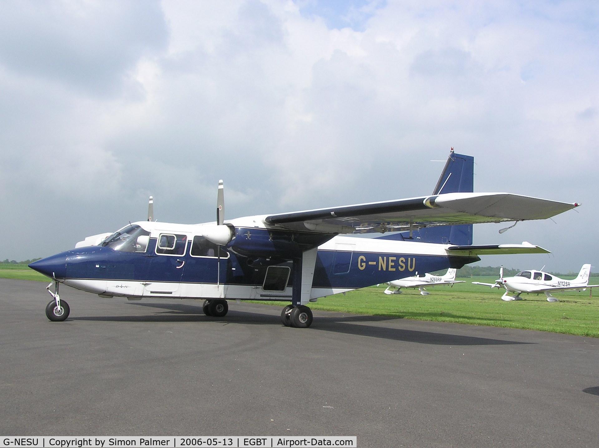 G-NESU, 1991 Pilatus Britten-Norman BN-2B-26 Islander C/N 2260, BN-2 Islander at Turweston