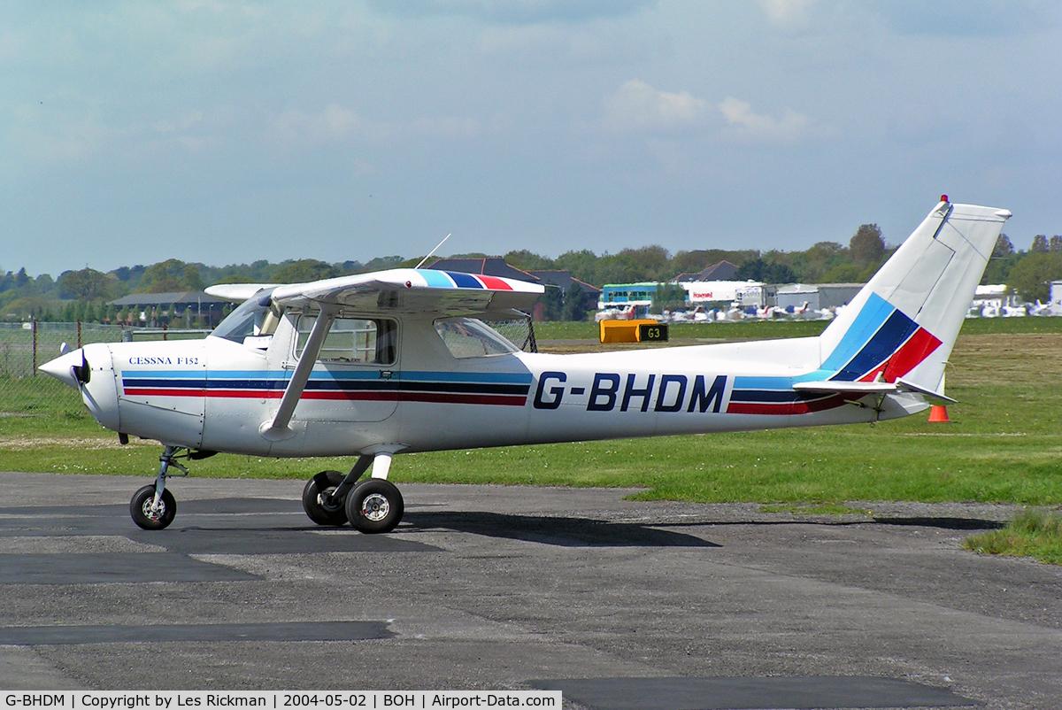 G-BHDM, 1979 Reims F152 C/N 1684, Cessna F.152 11
