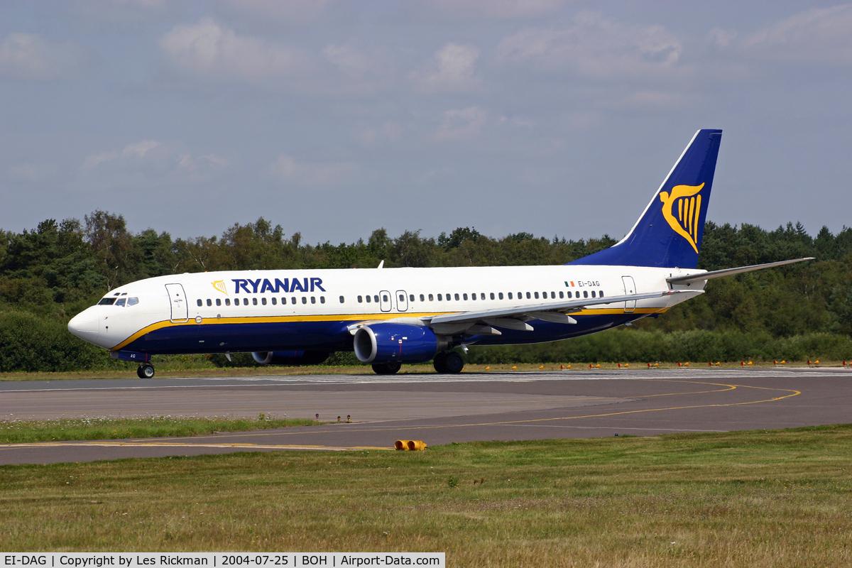 EI-DAG, 2002 Boeing 737-8AS C/N 29940, Boeing 737 8AS