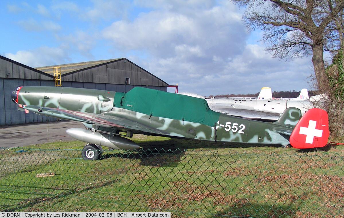 G-DORN, 1948 F+W C-3605 Schlepp C/N 332, EKW C-3605 (G-DORN)