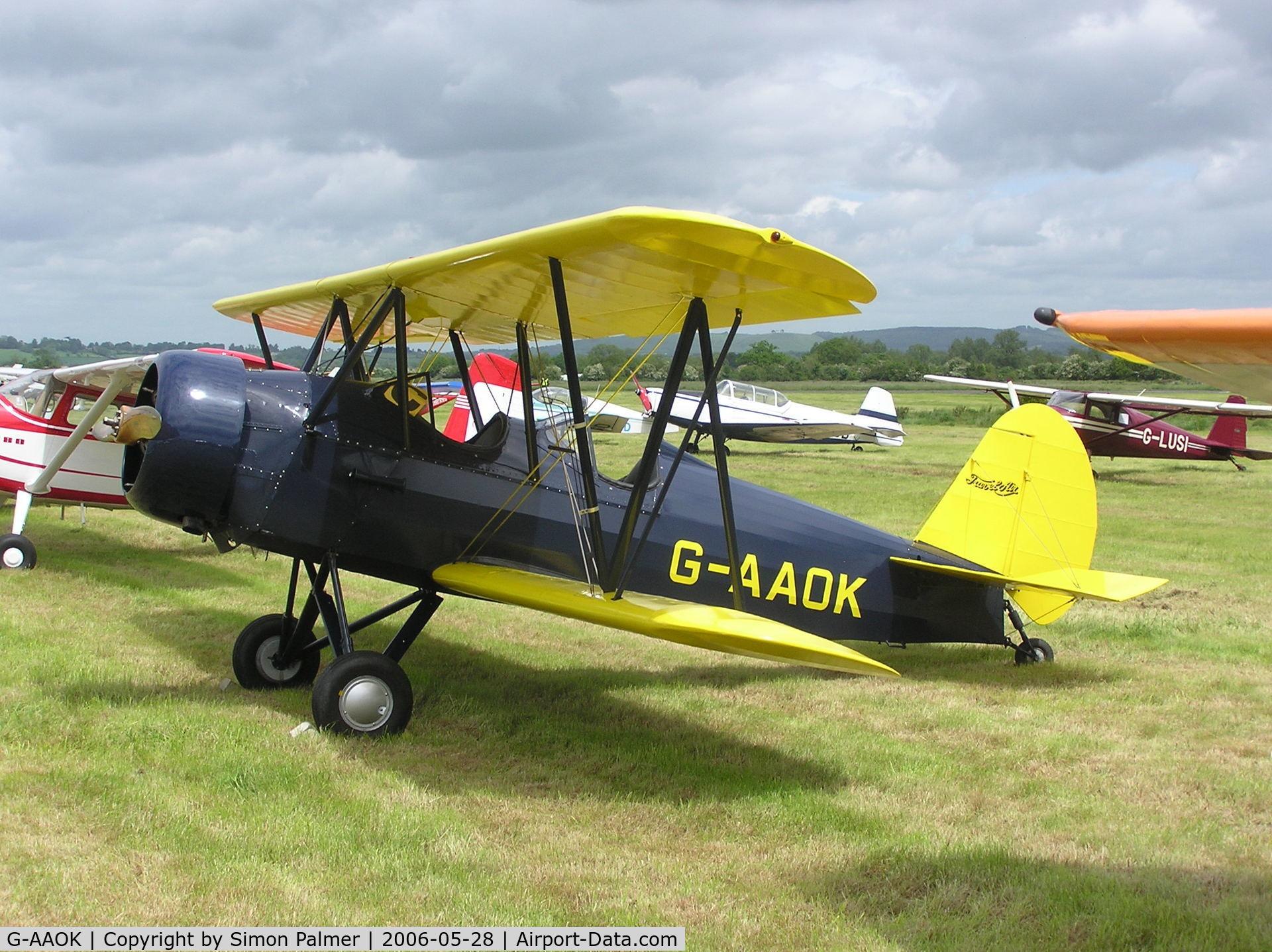G-AAOK, 1929 Curtiss-Wright Travel Air 12Q C/N 2026, Travel Air at Keevil