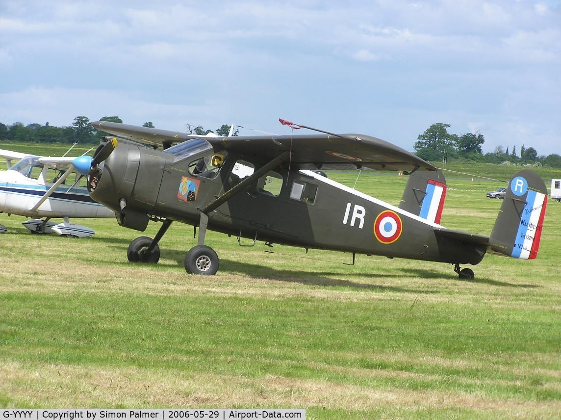 G-YYYY, 1960 Max Holste MH-1521C-1 Broussard C/N 208, Max Holste MH1521M Broussard in French AF colours