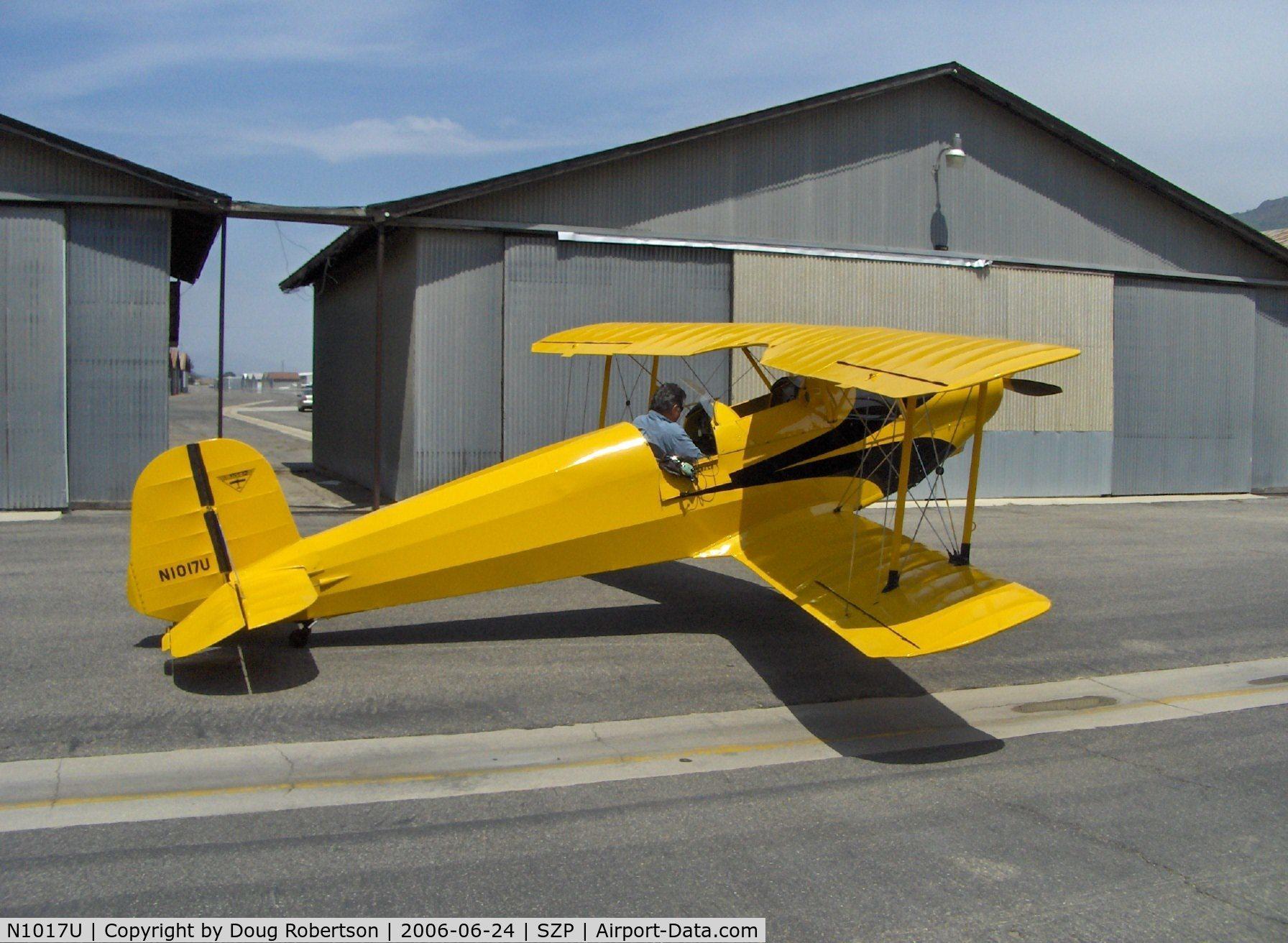 N1017U, 1939 CASA 1-131 Jungmann C/N E3B-435, Pat Quinn's 1939 Bucker Jungmann C.A.S.A. 1.131, Lycoming O-360 180 hp