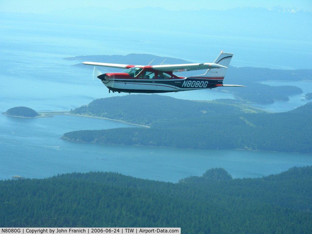 N8080G, 1971 Cessna 177RG Cardinal C/N 177RG0080, Over San Juans from R2