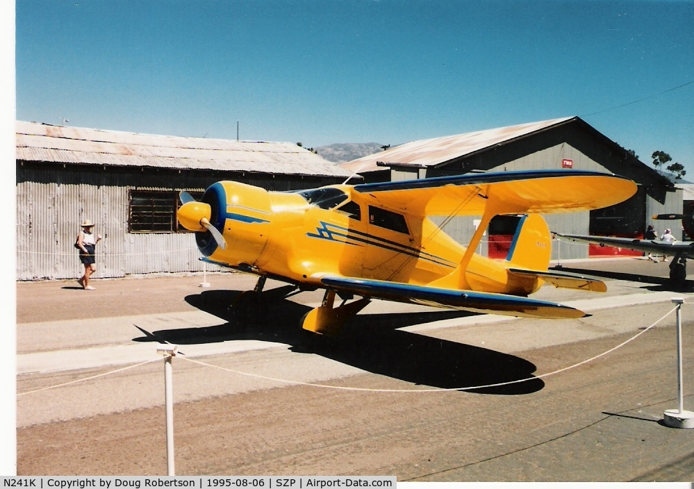 N241K, 1939 Beech D17S Staggerwing C/N 287, 1939 Beech D17S STAGGERWING, P&W R-985 Wasp Junior 450 Hp