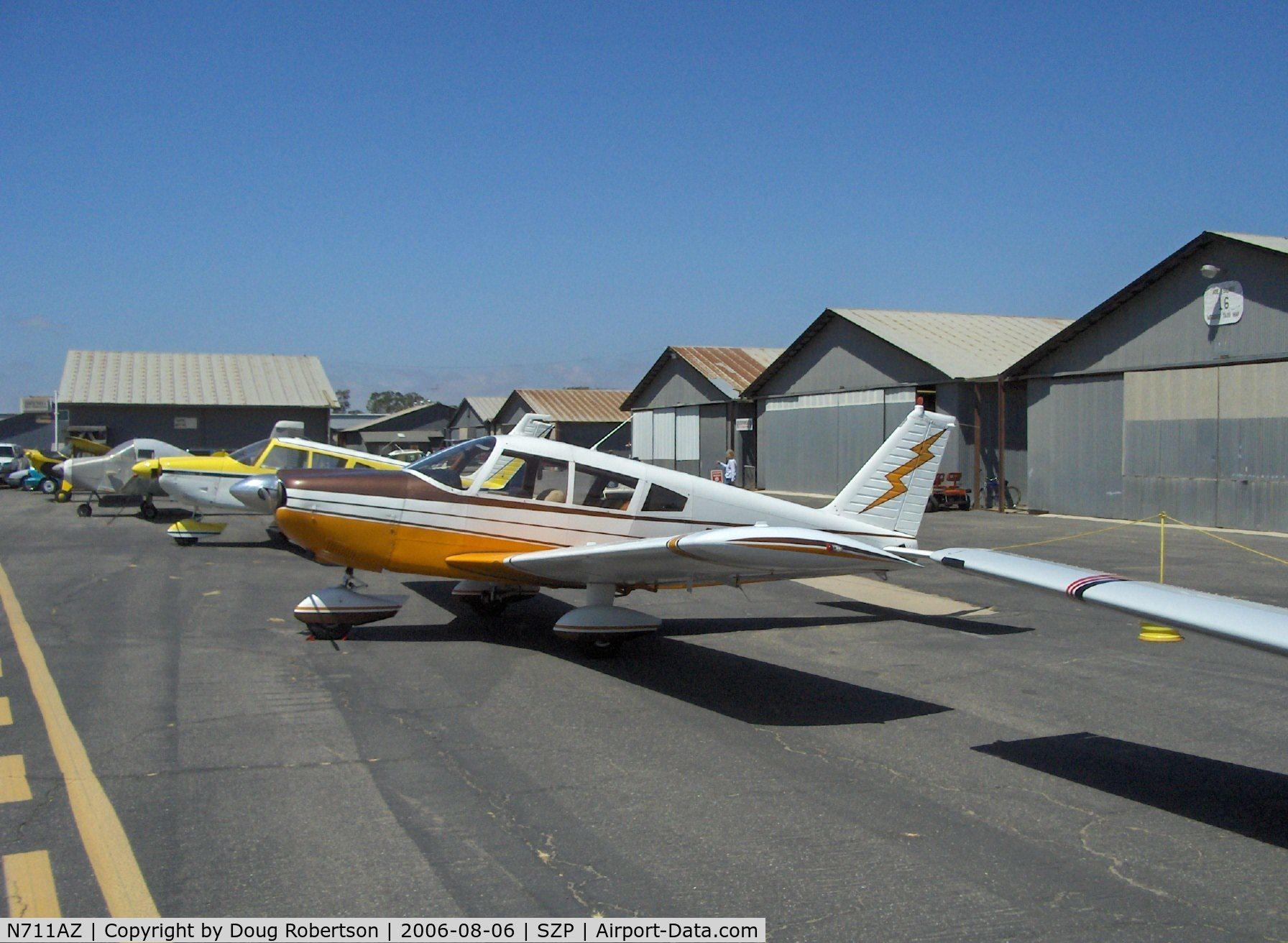 Aircraft N711AZ (1970 Piper PA-28-235 Cherokee C/N 28-11361