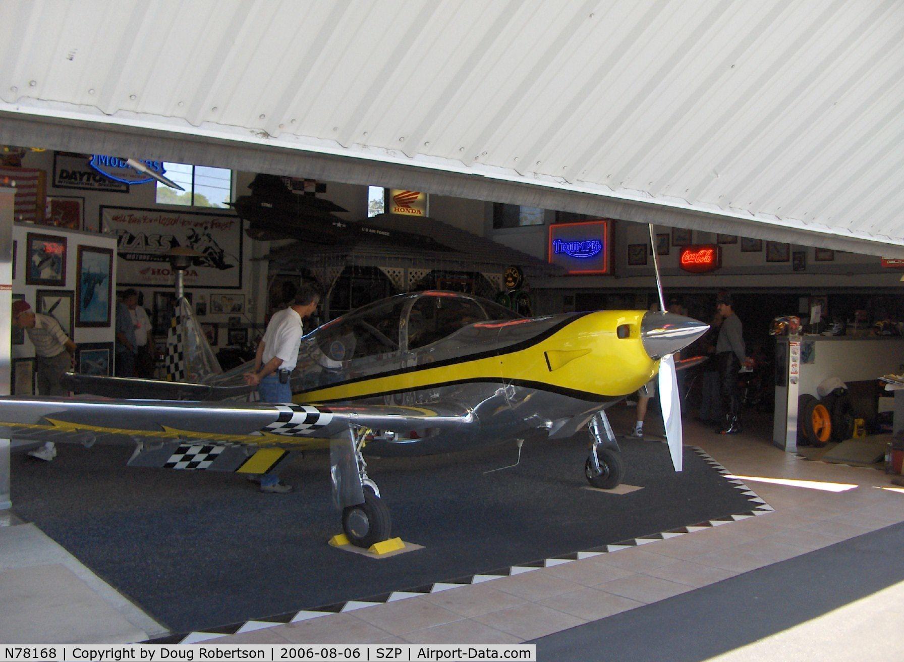 Aircraft N78168 (1946 Temco GC-1B Swift C/N 2168) Photo by Doug
