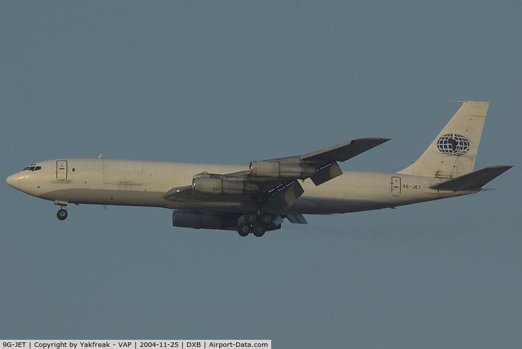 9G-JET, 1967 Boeing 707-321C C/N 19372, Johnsons Air Boeing 707-300