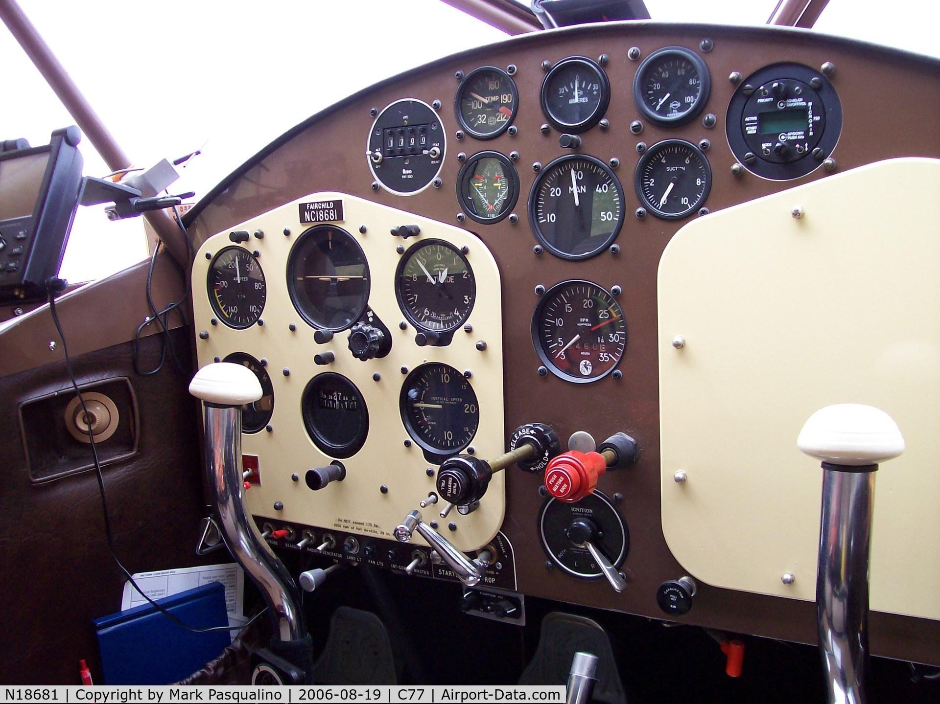N18681, 1939 Fairchild 24 K C/N 3324, Fairchild 24K