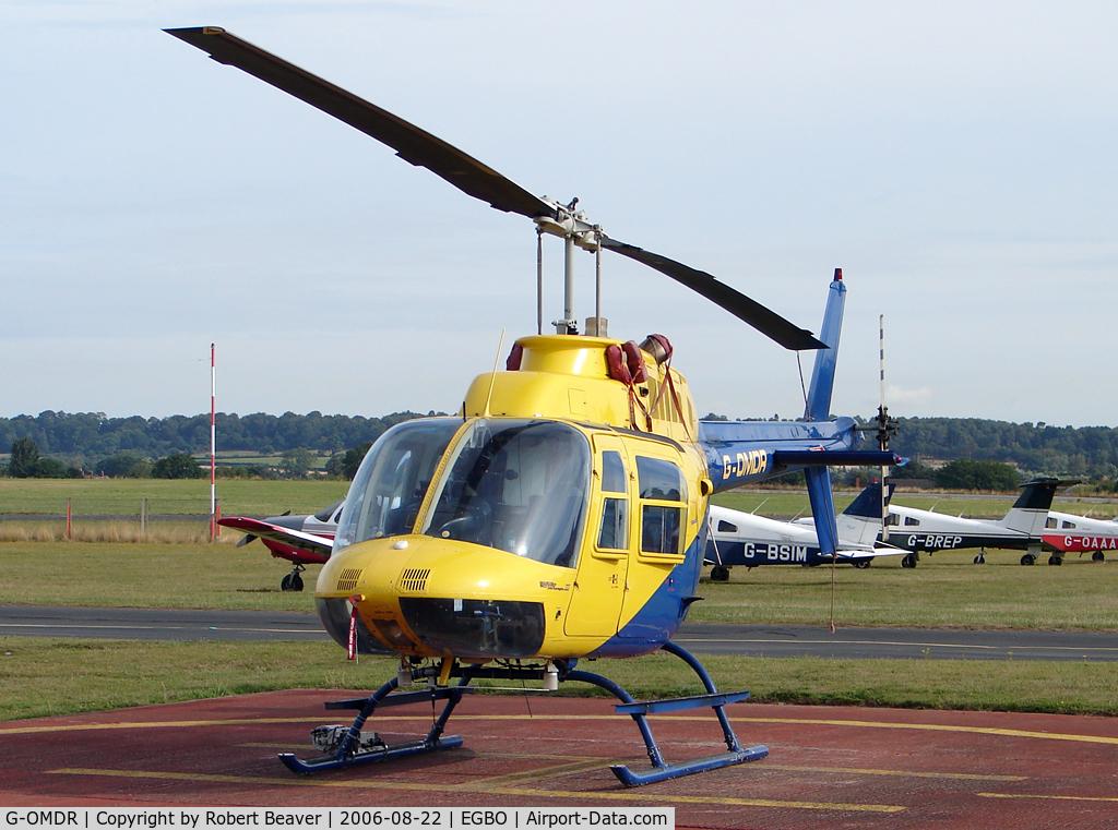 G-OMDR, 1981 Agusta AB-206B JetRanger II C/N 8610, Bell 206B Jet Ranger II