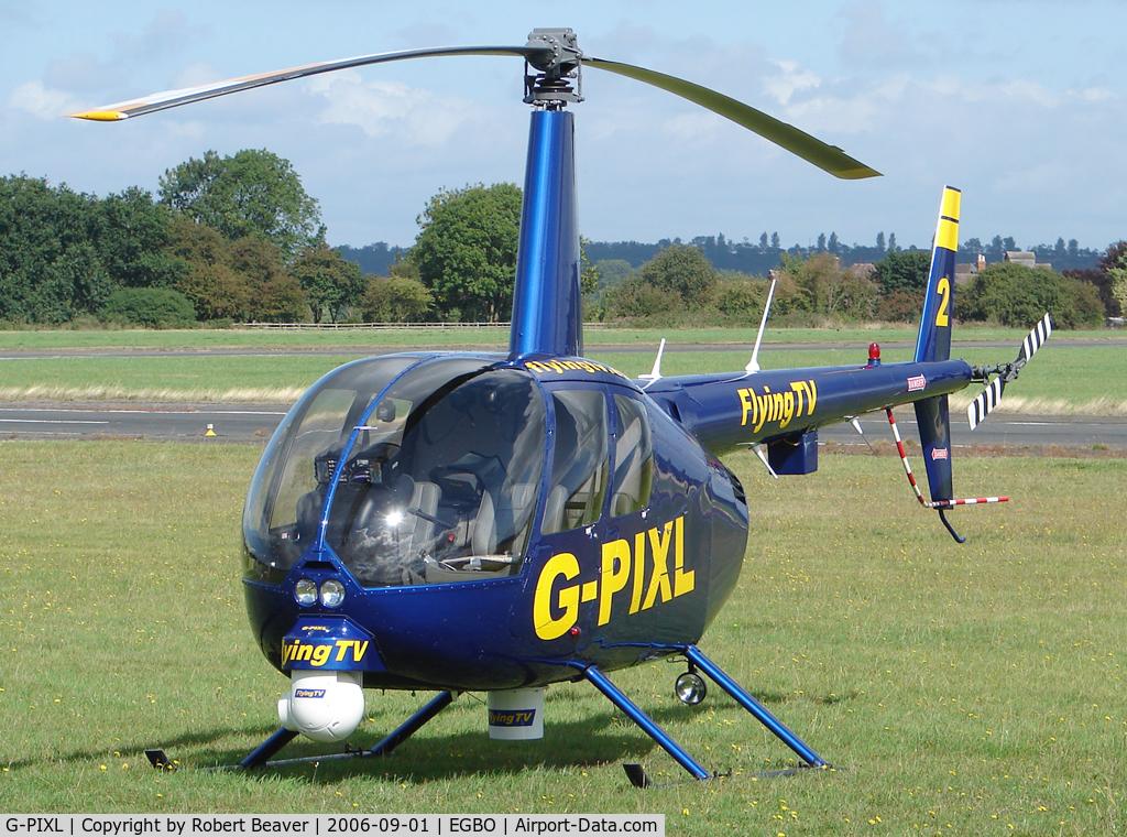 G-PIXL, 2006 Robinson R44 Raven II C/N 11221, Robinson R44 Raven II