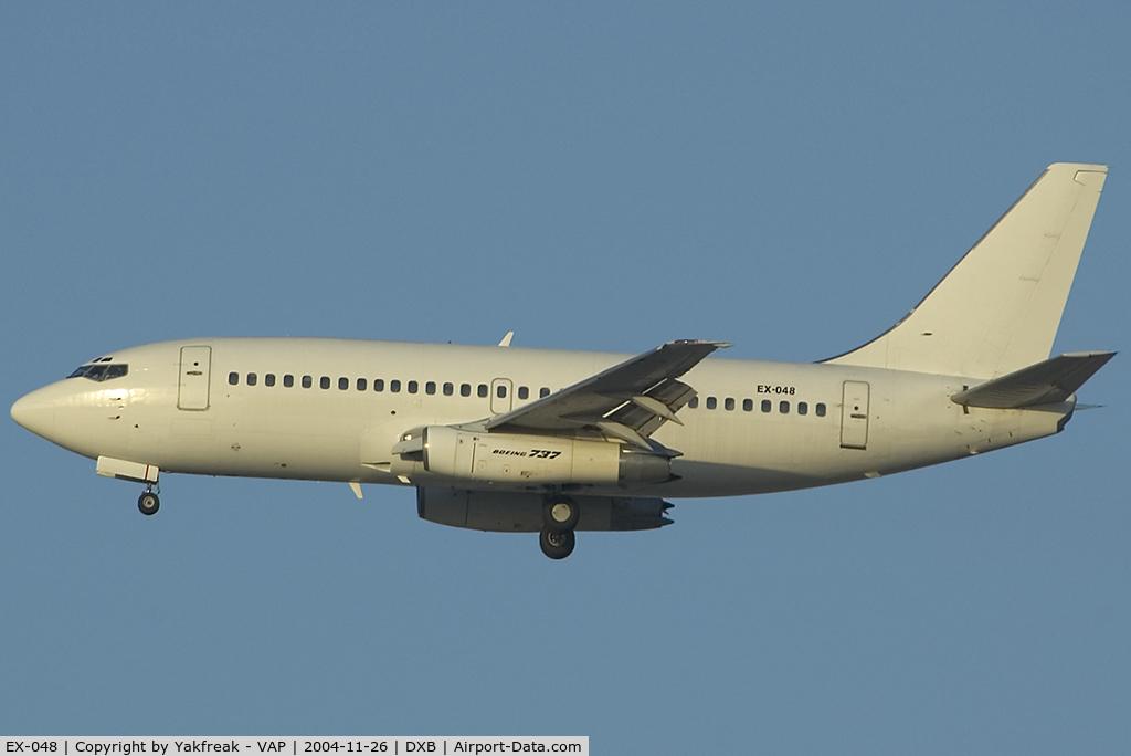 EX-048, 1980 Boeing 737-2T5 C/N 22395, Boeing 737-200
