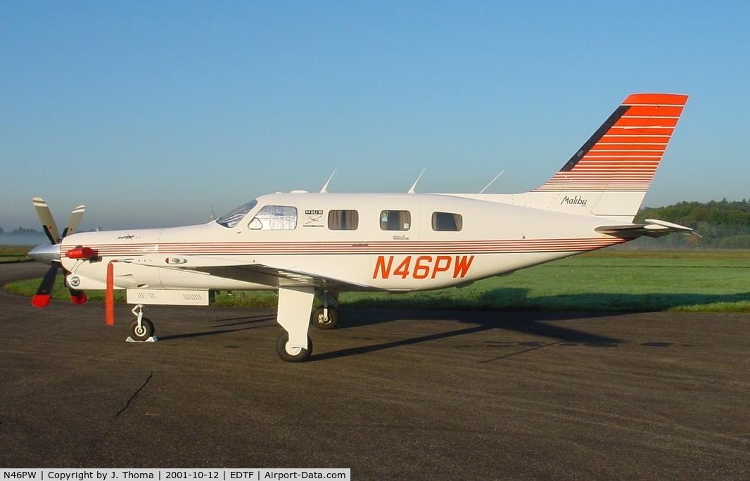 N46PW, 2005 Piper PA-46-350P Malibu Mirage C/N 4636370, Piper PA-46 Malibu