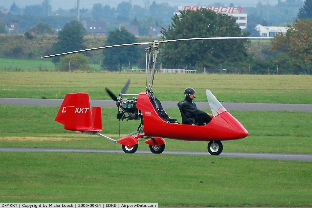 D-MKKT, AutoGyro MT-03 C/N D06G03, in Hangelar/Germany