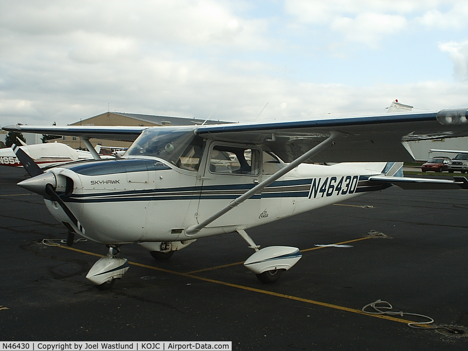 N46430, 1968 Cessna 172K Skyhawk C/N 17257263, A very good airplane for primary training.