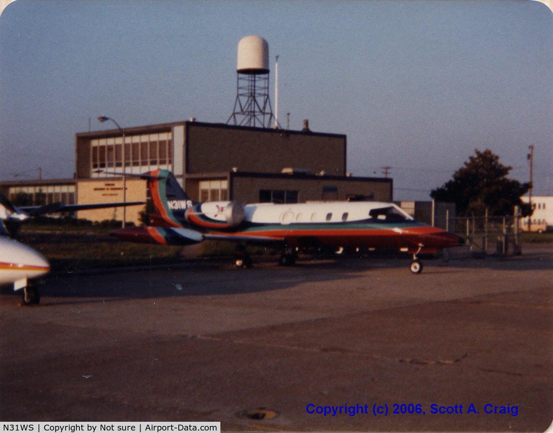 N31WS, 1975 Gates Lear Jet 35 C/N 027, John Denvers Learjet
