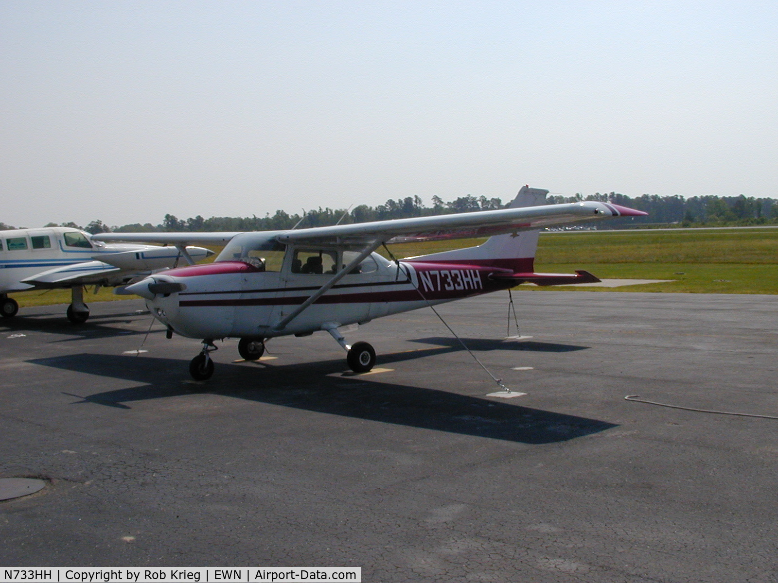 N733HH, 1976 Cessna 172N Skyhawk C/N 17268303, TradeWind Aviation Rental