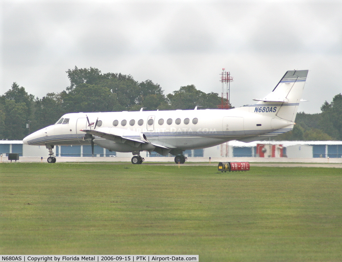 N680AS, 1994 British Aerospace Jetstream 4101 C/N 41030, take off