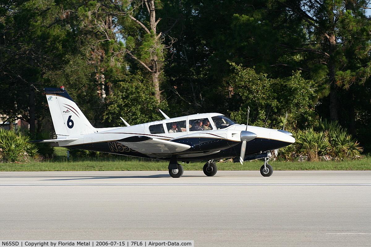 N65SD, 1967 Piper PA-30 C/N 30-1431, Spruce Creek