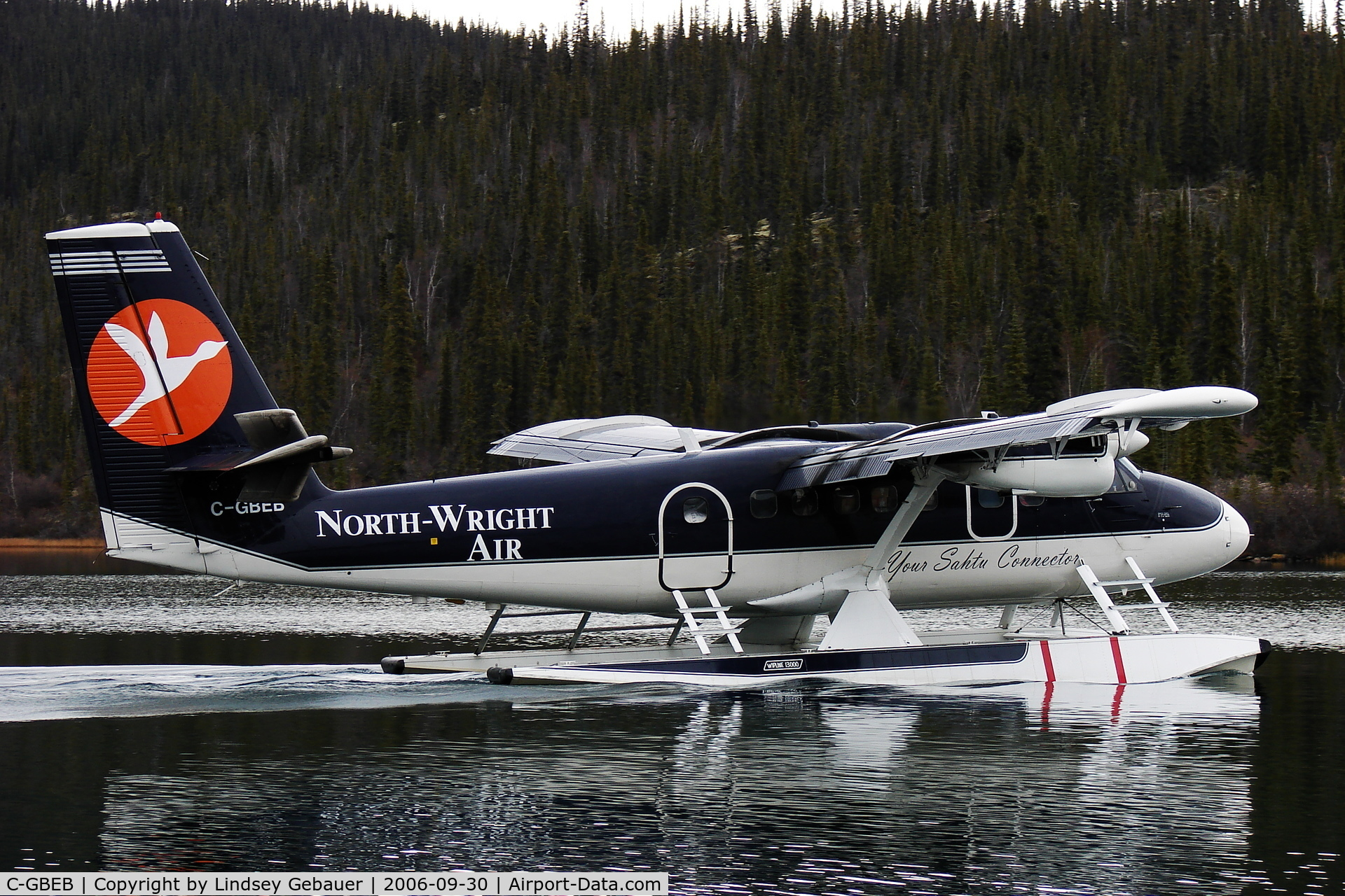 C-GBEB, 1970 De Havilland Canada DHC-6-300 Twin Otter C/N 272, Bransons Lodge, Great Bear Lake