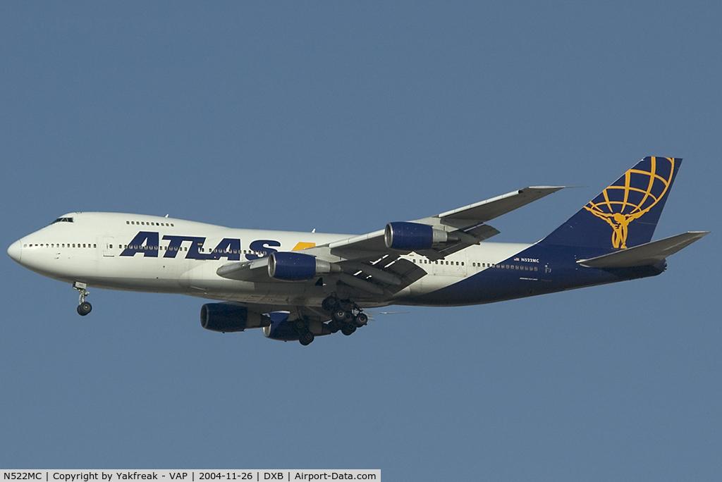 N522MC, 1979 Boeing 747-2D7B C/N 21783, Atlas Air Boeing 747-200F