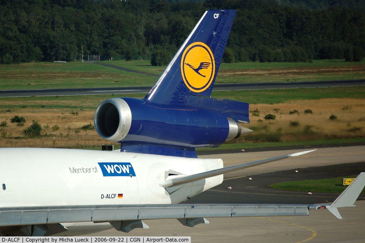 D-ALCF, 1999 McDonnell Douglas MD-11F C/N 48798, At Cologne/Bonn