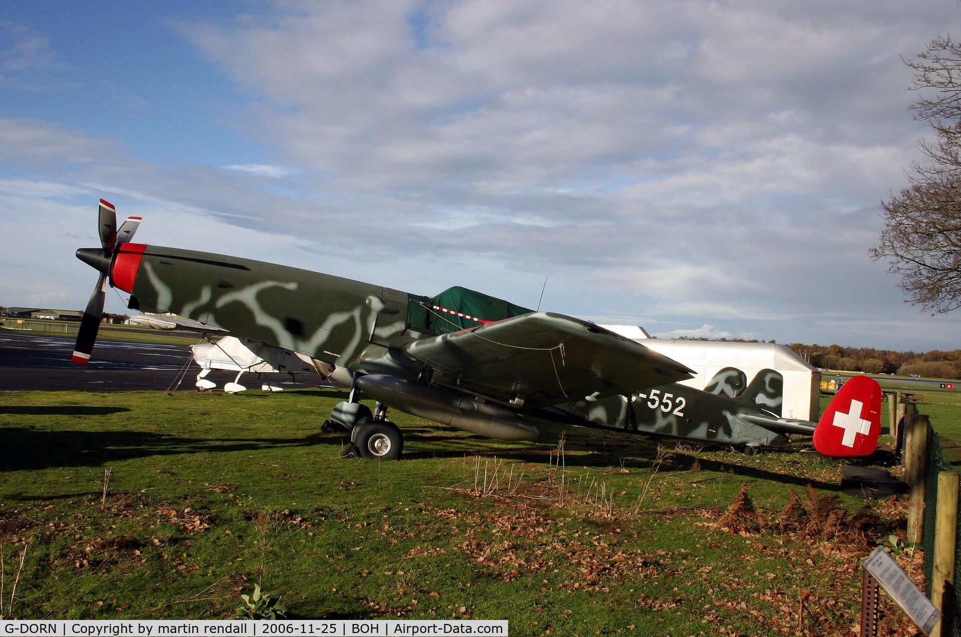 G-DORN, 1948 F+W C-3605 Schlepp C/N 332, DORNIER C-3605