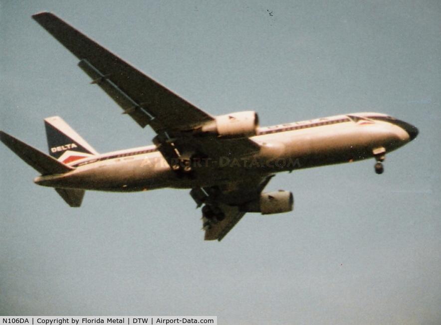 N106DA, 1982 Boeing 767-232 C/N 22218, Taken back in 1985