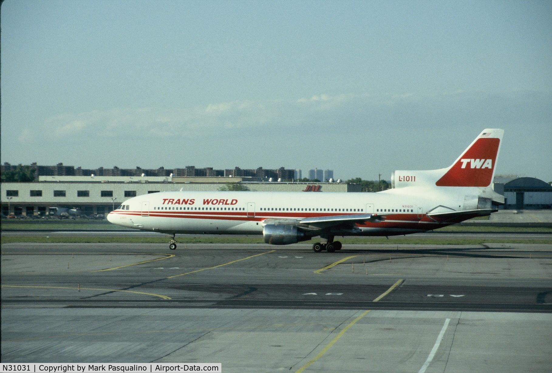 N31031, 1982 Lockheed L-1011-385-1-15 TriStar 100 C/N 193B-1115, Lockheed L-1011