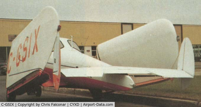 C-GSIX, 1946 Erco 415D Ercoupe C/N 1686, 1946 Ercoupe 415-D with Falconar Wing Fold mod