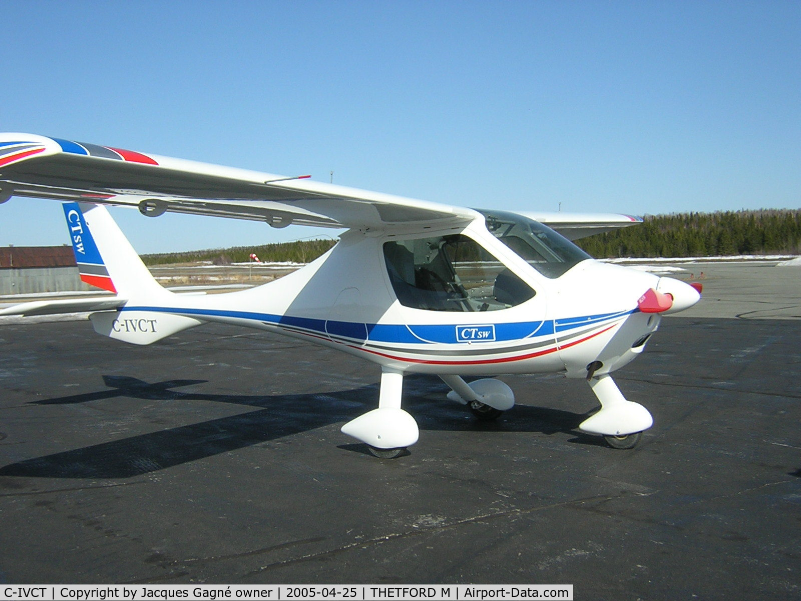 C-IVCT, 2005 Flight Design CTSW C/N 05-01-02, CTSW for sale
