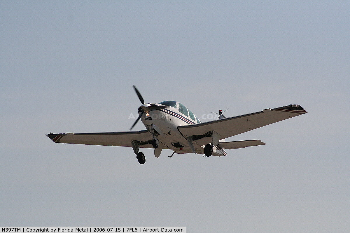 N397TM, 1997 Raytheon Aircraft Company A36 C/N E-3103, Spruce Creek