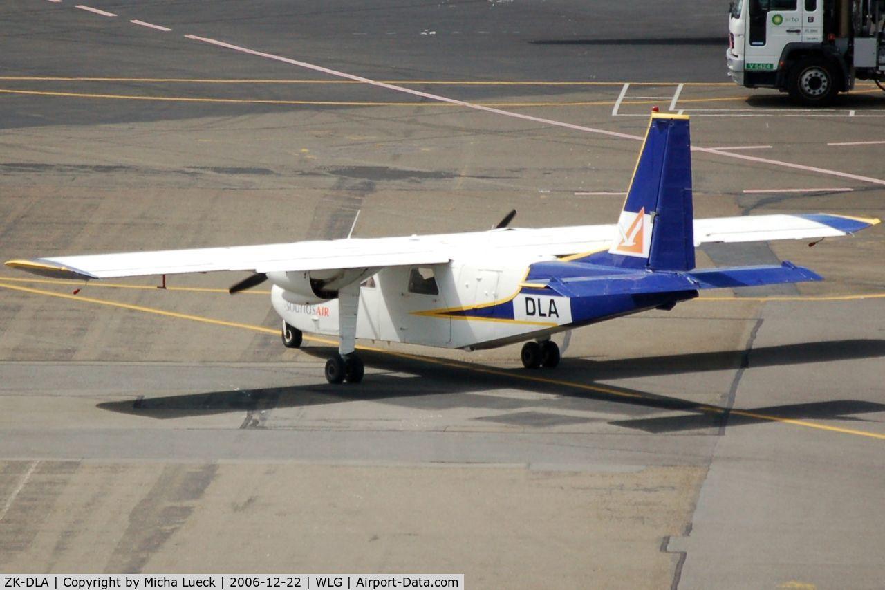 ZK-DLA, Pilatus Britten-Norman BN-2B-26 Islander C/N 2131, Taxiing to the runway