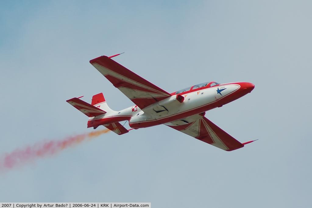 2007, PZL-Mielec TS-11 Iskra bis DF C/N 3H-2007, Bialo-Czerwone Iskry