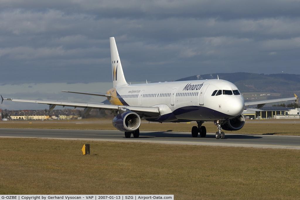G-OZBE, 2002 Airbus A321-231 C/N 1707, Salzburg @ highest frequenz