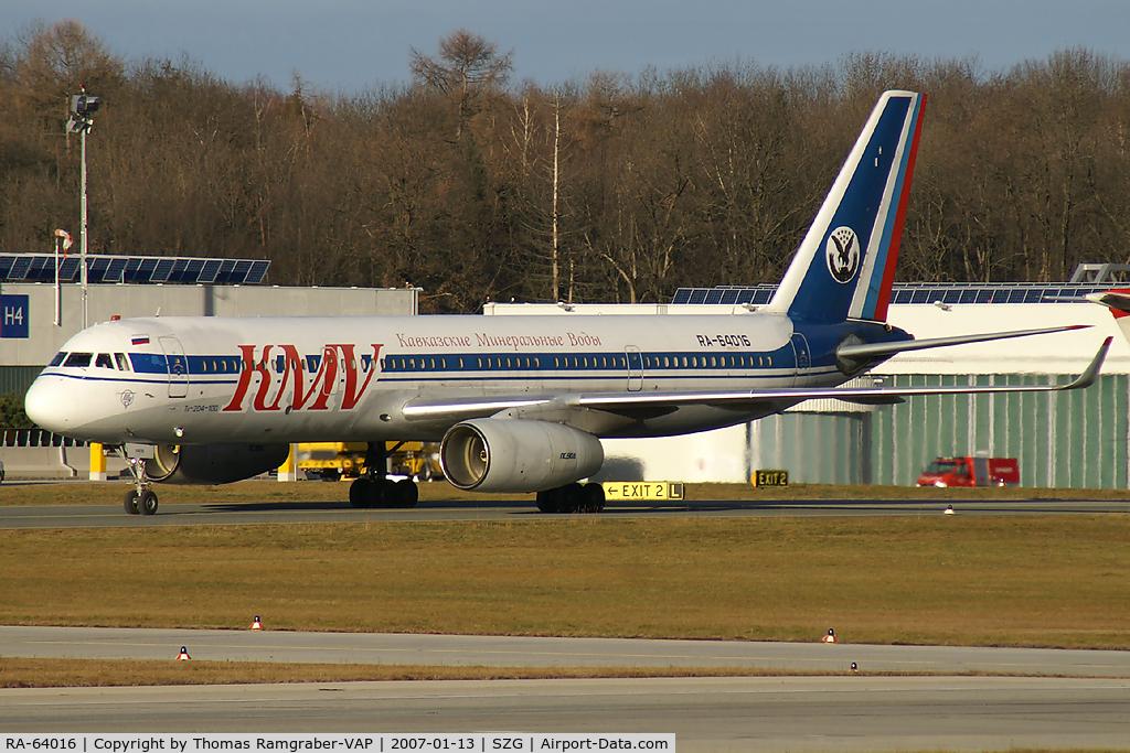 RA-64016, 1995 Tupolev Tu-204-100 C/N 1450742364016, KMV Kavkazkie Mineralnye Vody TU-204