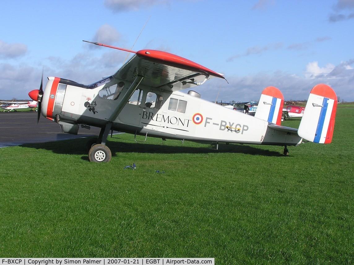 F-BXCP, 1960 Max Holste MH-1521M Broussard C/N 149, MH1521 Broussard visiting Turweston