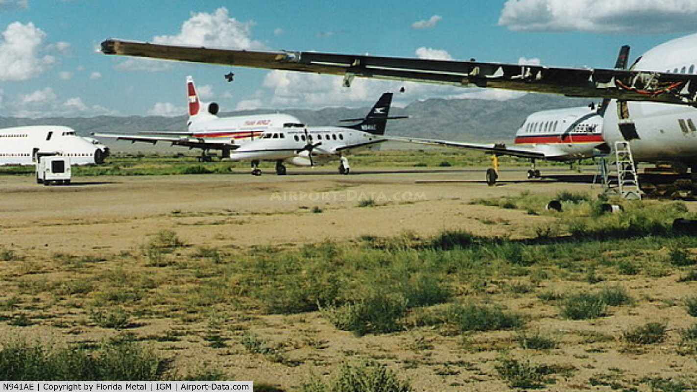 N941AE, British Aerospace BAE JETSTREAM 3201 C/N 941, Aerolineas Argentinas Express