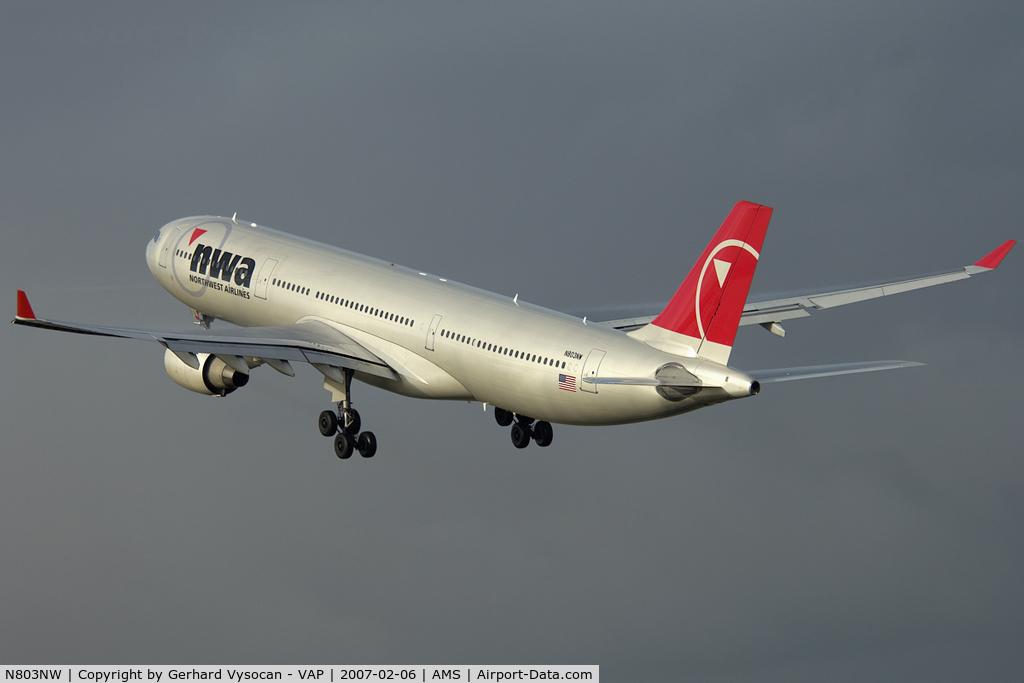 N803NW, 2003 Airbus A330-323 C/N 0542, good by Kaagbaan