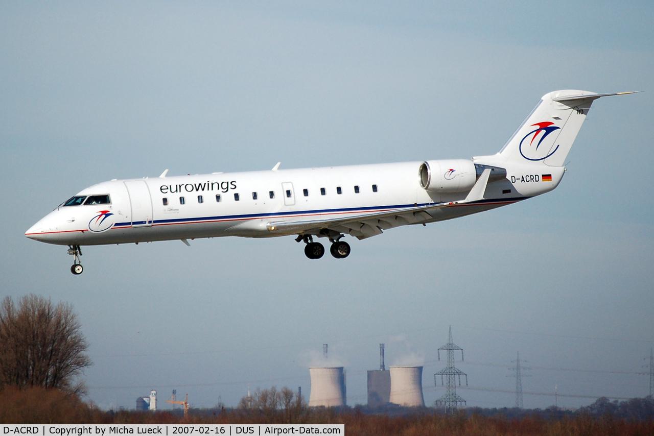 D-ACRD, Canadair CRJ-200ER (CL-600-2B19) C/N 7583, Eurowings