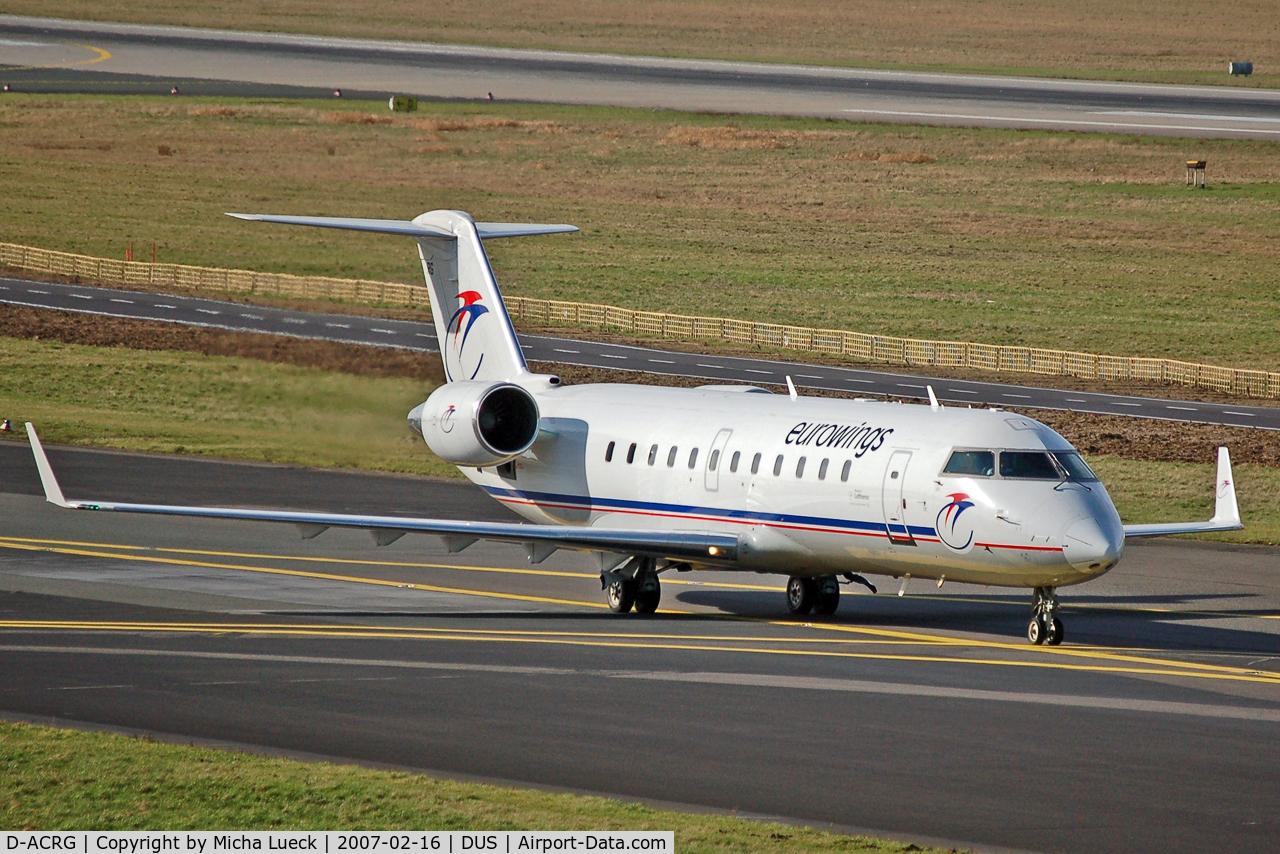 D-ACRG, 2002 Bombardier CRJ-200ER (CL-600-2B19) C/N 7630, Eurowings