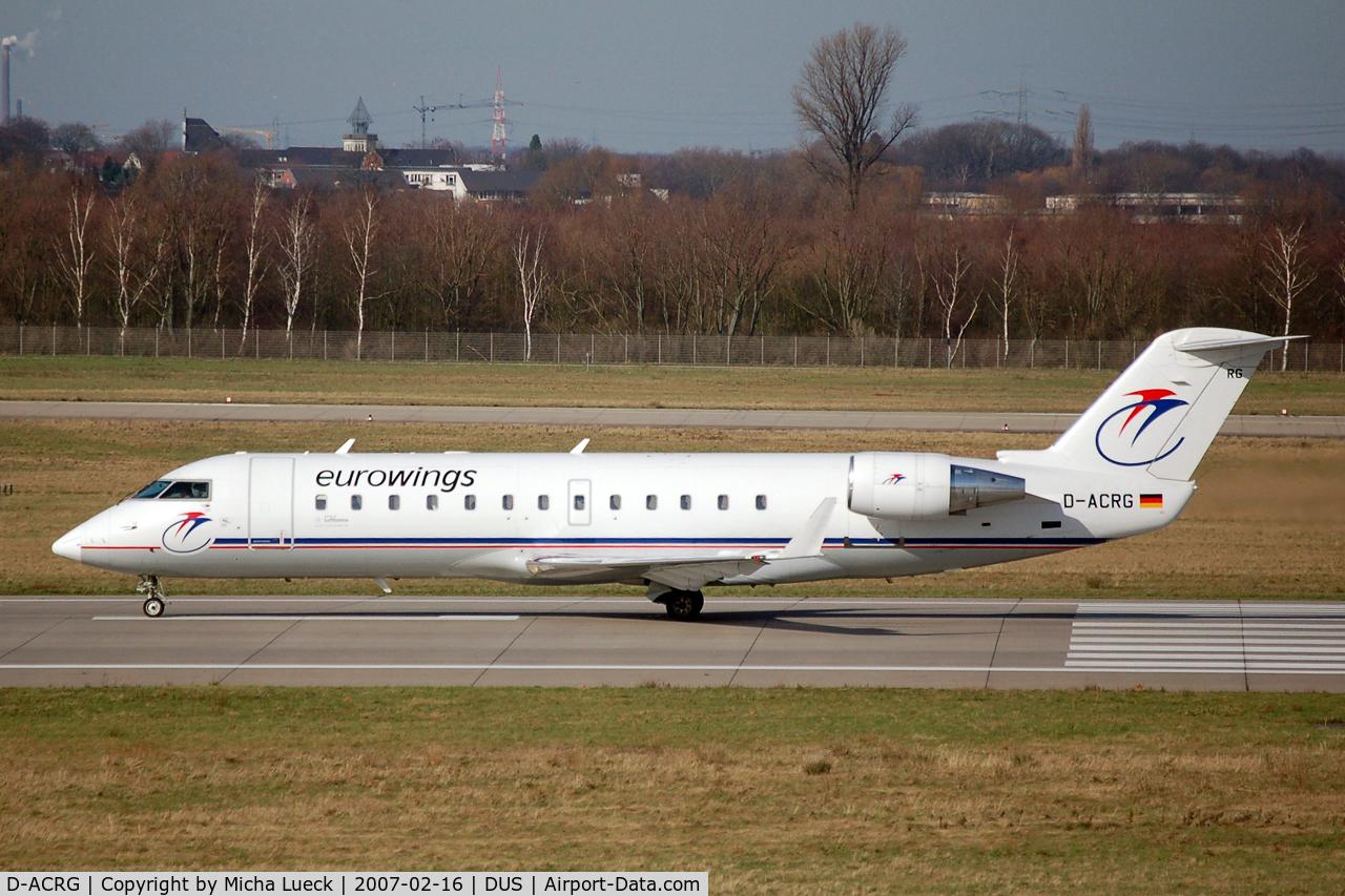 D-ACRG, 2002 Bombardier CRJ-200ER (CL-600-2B19) C/N 7630, Take-off run