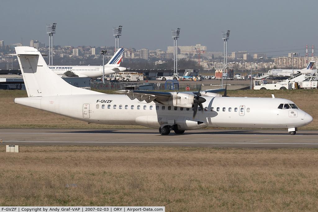 F-GVZF, 1995 ATR 72-212 C/N 461, Airlinair ATR72