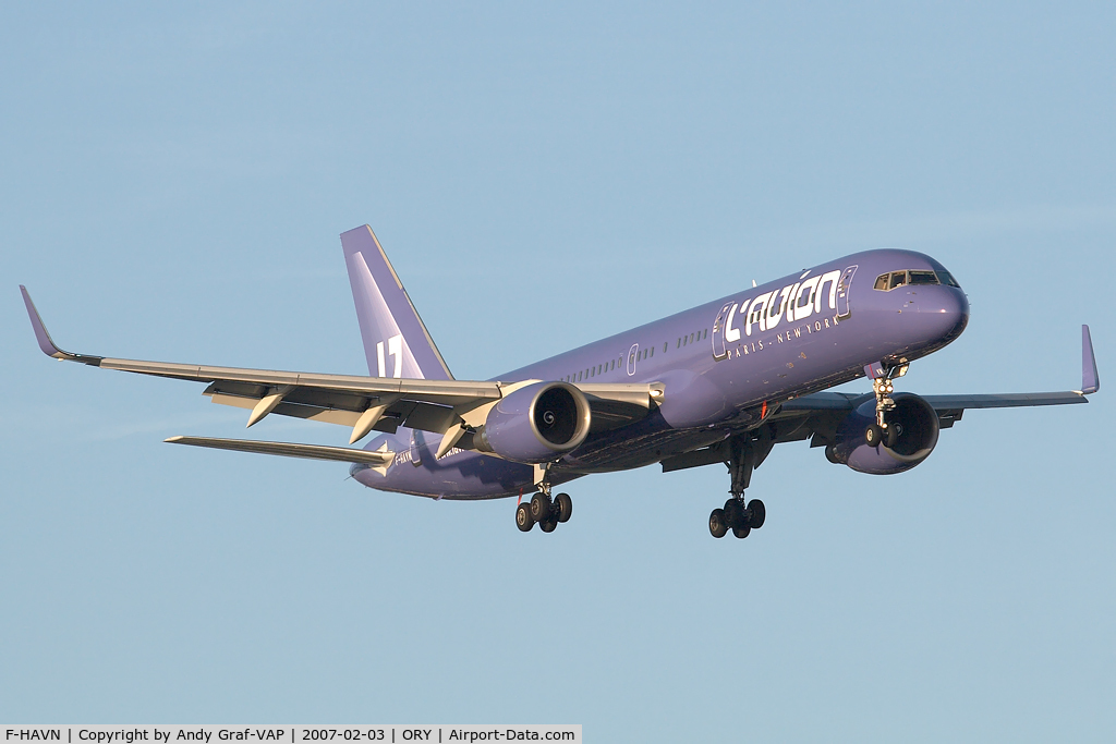 F-HAVN, 1991 Boeing 757-230 C/N 25140a, Lavion 757-200