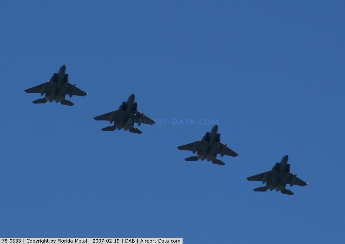 78-0533, 1978 McDonnell Douglas F-15C Eagle C/N 0522/C066, F-15s