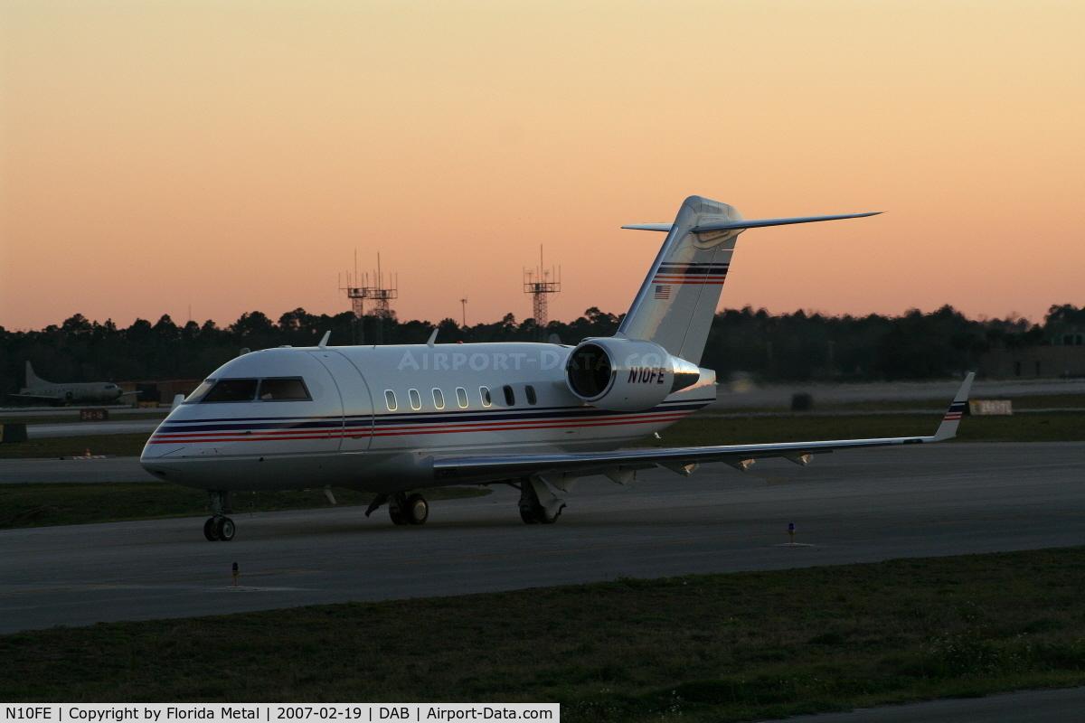 N10FE, 1995 Canadair Challenger 600S (CL-600-1A11) C/N 1074, CL600