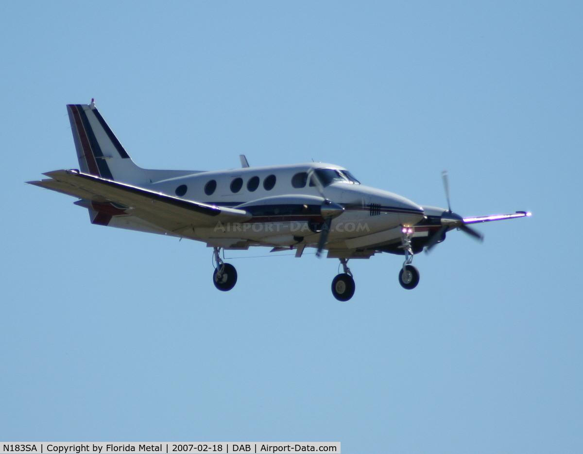 N183SA, 1973 Beech C90 King Air C/N LJ-571, Beech 90
