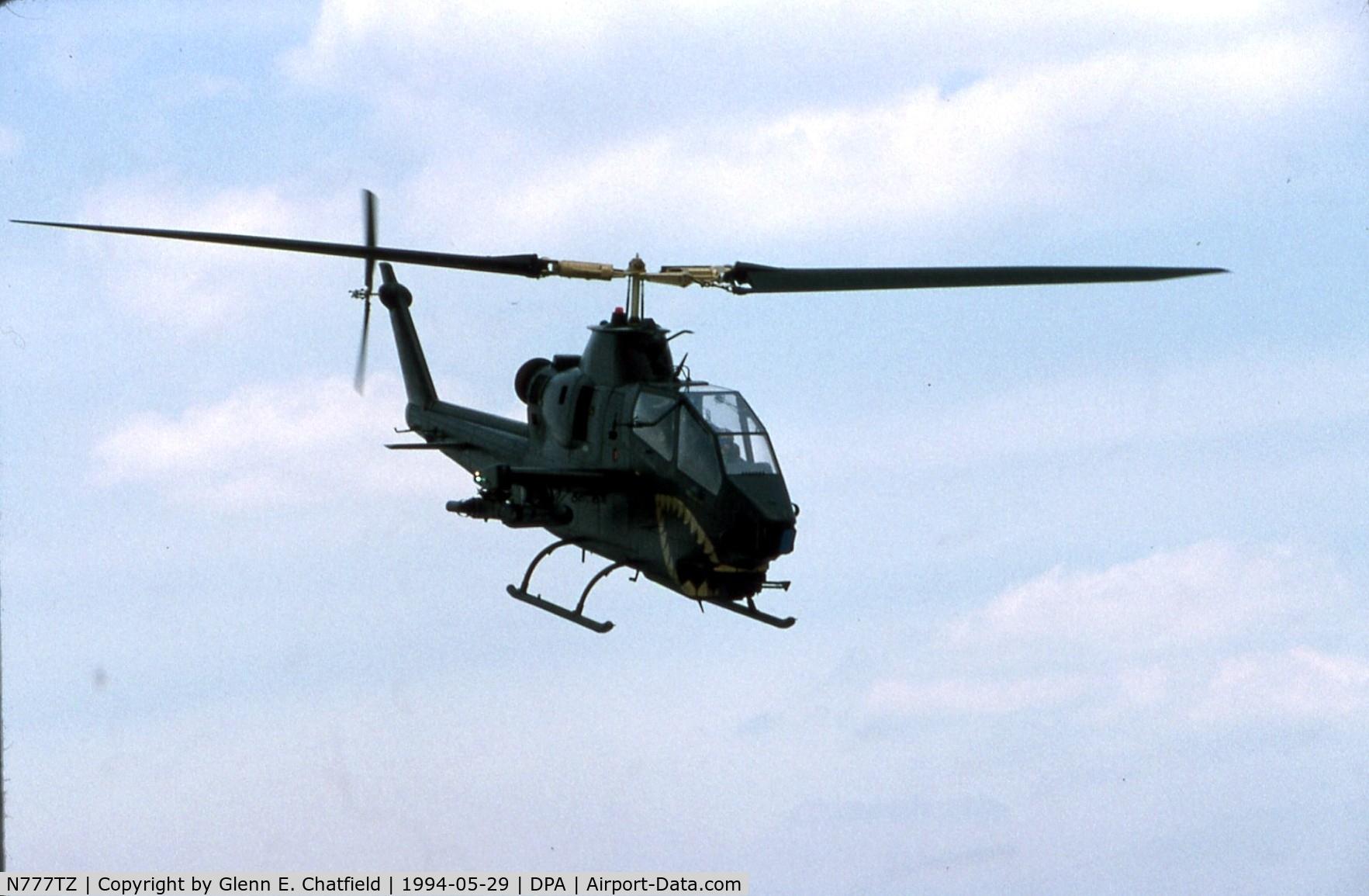 N777TZ, Bell AH-1E (209) C/N 22197, AH-1S 78-23091 rebuilt. Crashed in 1996