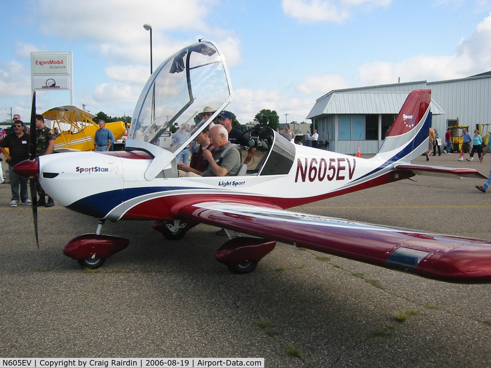 N605EV, 2006 Evektor-Aerotechnik SPORTSTAR C/N 2006 0605, EAA Light Sport Tour