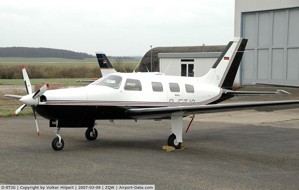 D-ETJG, Piper PA-46-350P Malibu Mirage C/N 4622121, Piper PA-46-350P